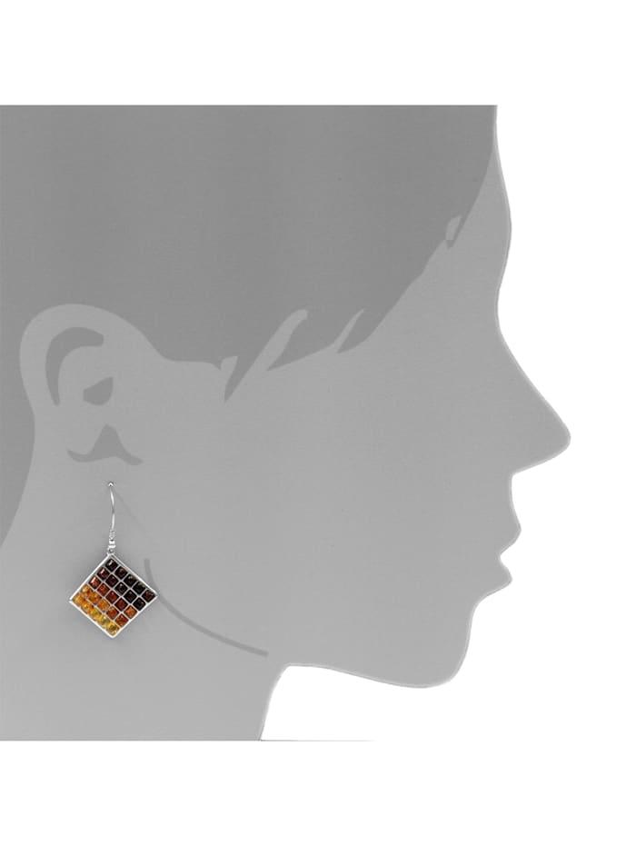 Ohrhänger - Jeanette - Silber 925/000 - Bernstein