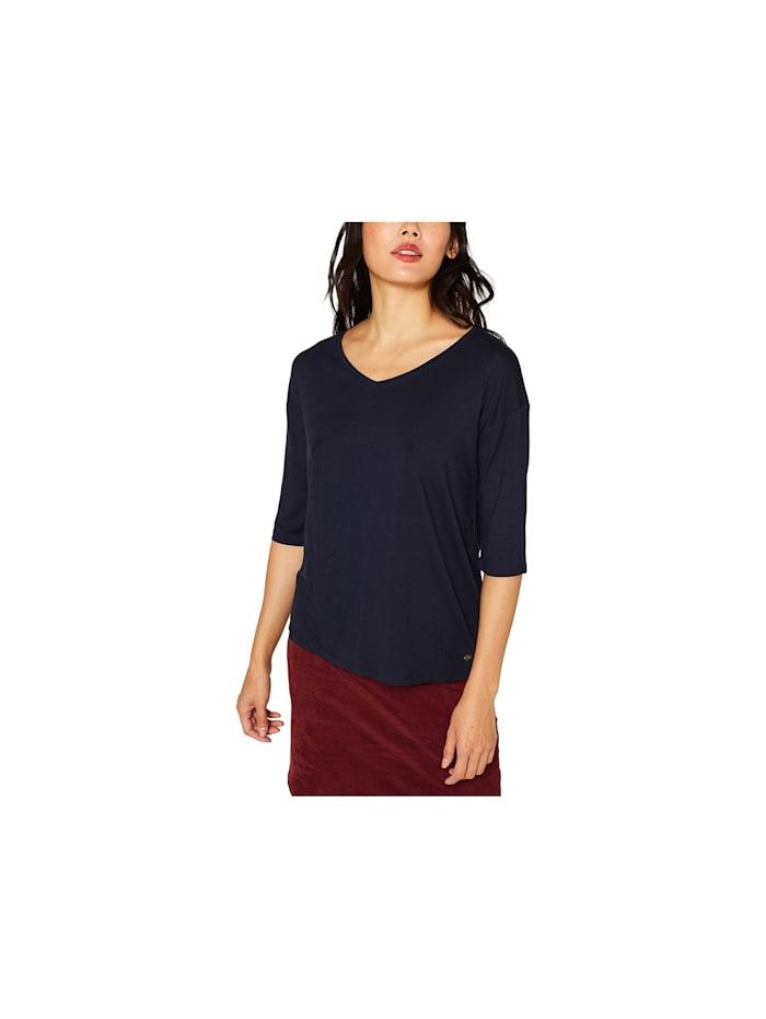 Esprit 3/4 Shirts, marineblau