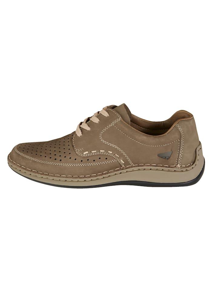 Šněrovací obuv s letními otvory