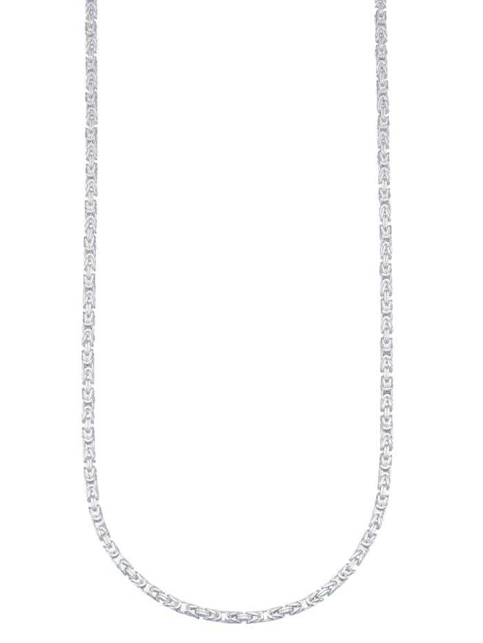 Diemer Silber Koningsketting van echt zilver, Zilverkleur