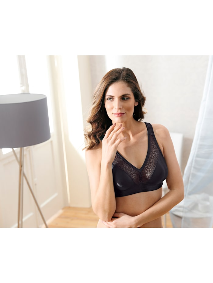 Minimiser Bra Made with an elegant shimmering fabric Pack of 2