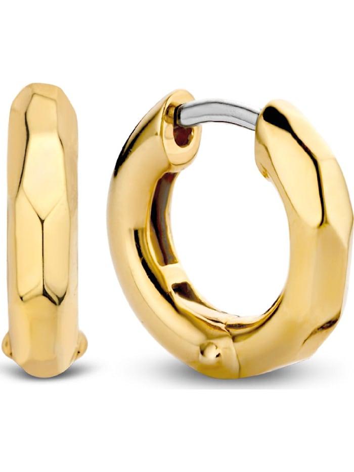 Ti Sento Milano Ti Sento - Milano Damen-Creolen 925er Silber, gold