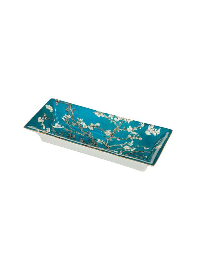 Goebel Goebel Schale Vincent van Gogh - Mandelbaum blau, Van Gogh - Mandelbaum blau
