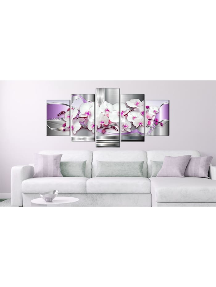 Wandbild Orchidee und Fantasie