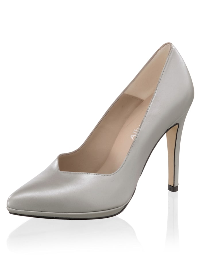 Alba Moda Pumps als elegante Standardvariante, Silberfarben