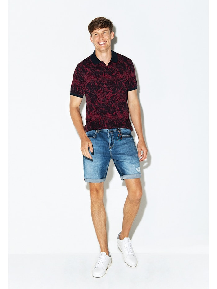 Stylisches Piquee Polo-Shirt