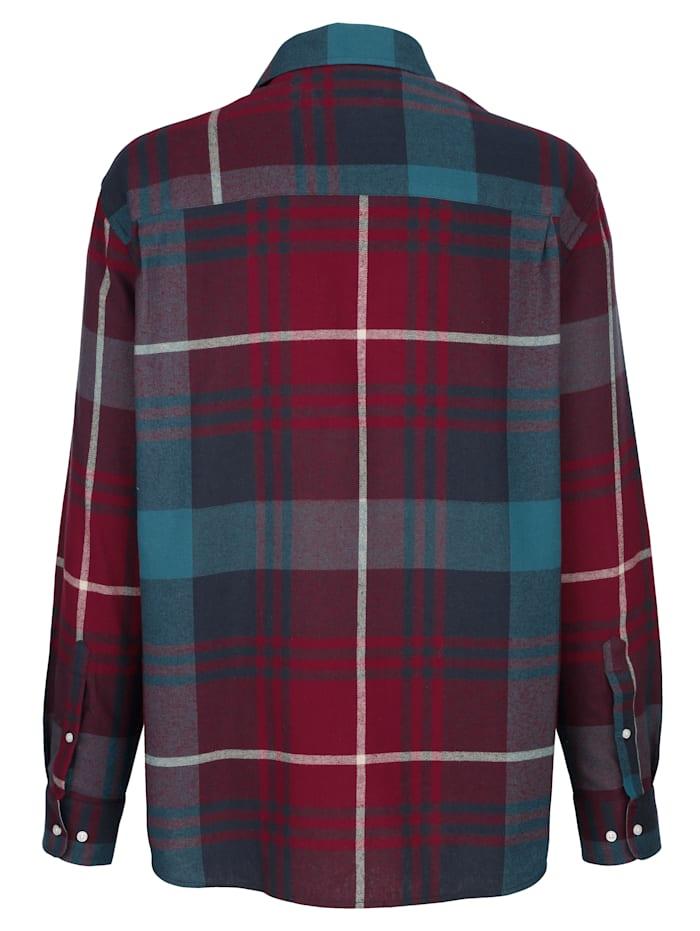 Chemise en flanelle en matière agréable à porter