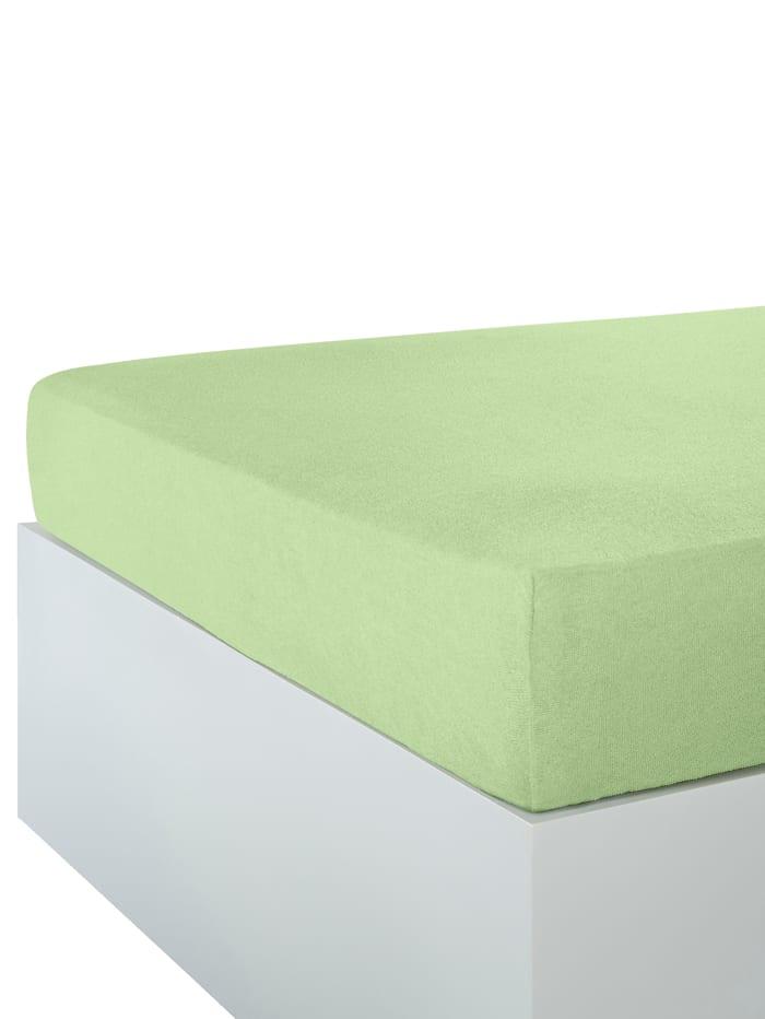 Webschatz Stretchlaken, lindegrønn