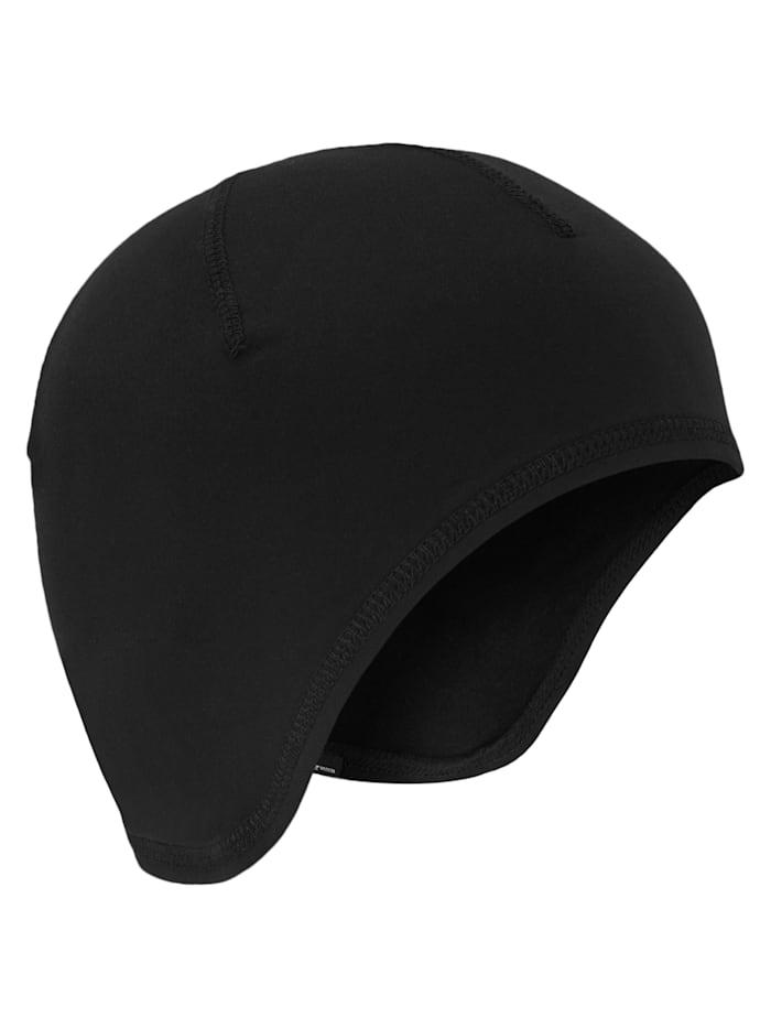 Ziener IANTHE Junior under helmet hat, Black