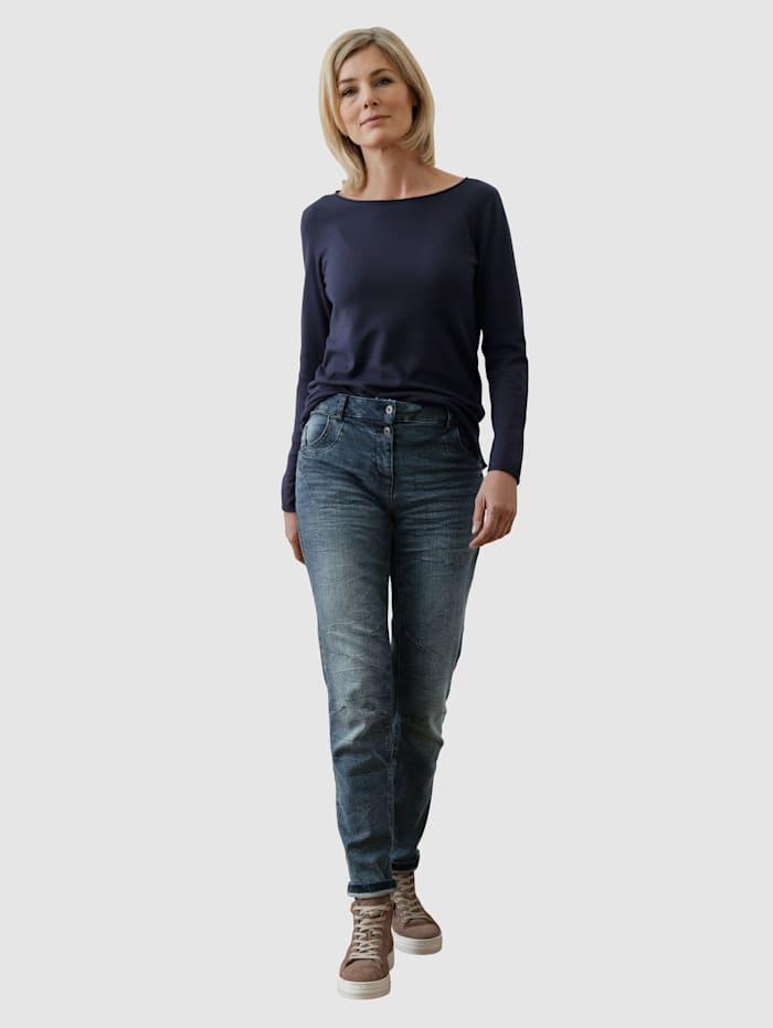 Jeans i boyfriendmodell