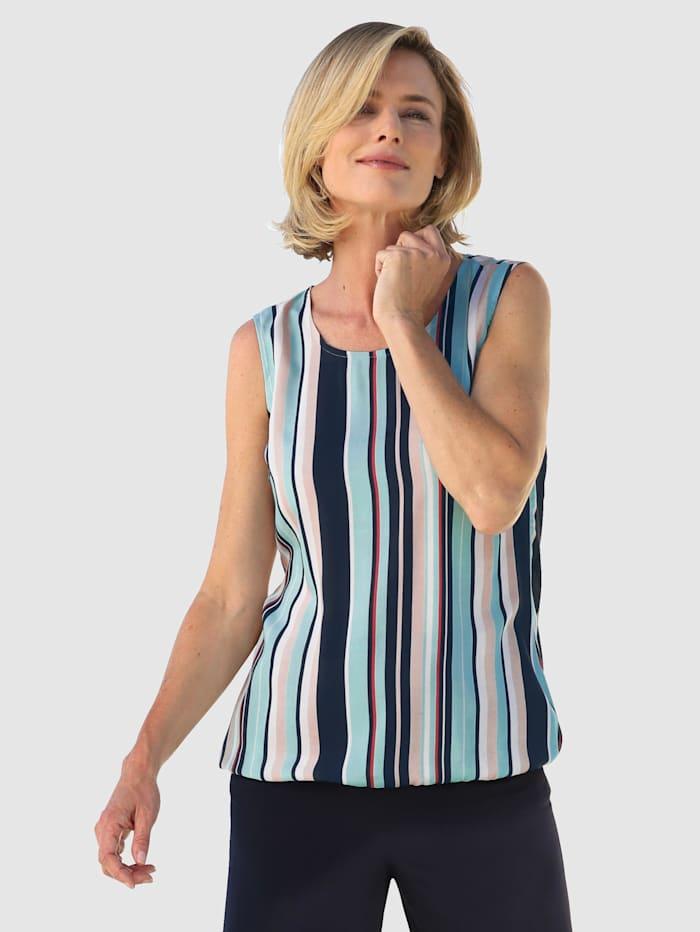 Dress In Ärmlös topp i vävt material, Mint