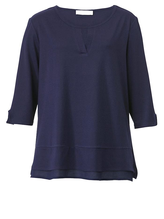 Shirt in Lagenlook-Optik
