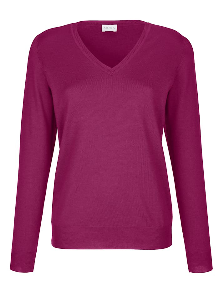 Pull-over en pure laine mérinos