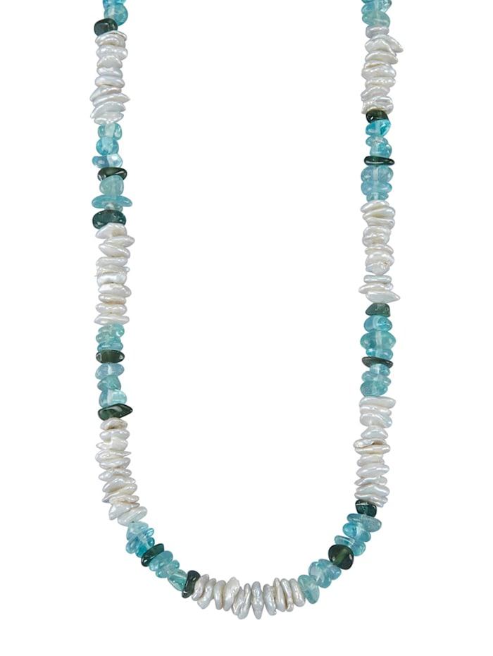 Halskette mit Süßwasser-Zuchtperlen