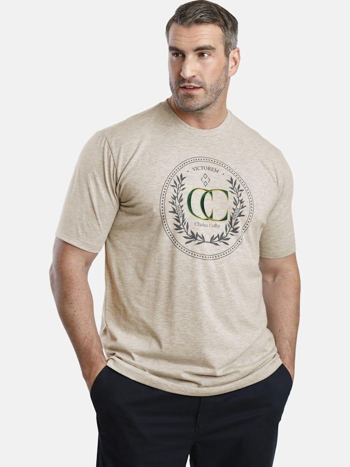 Charles Colby Charles Colby T-Shirt EARL CRAIG, beige