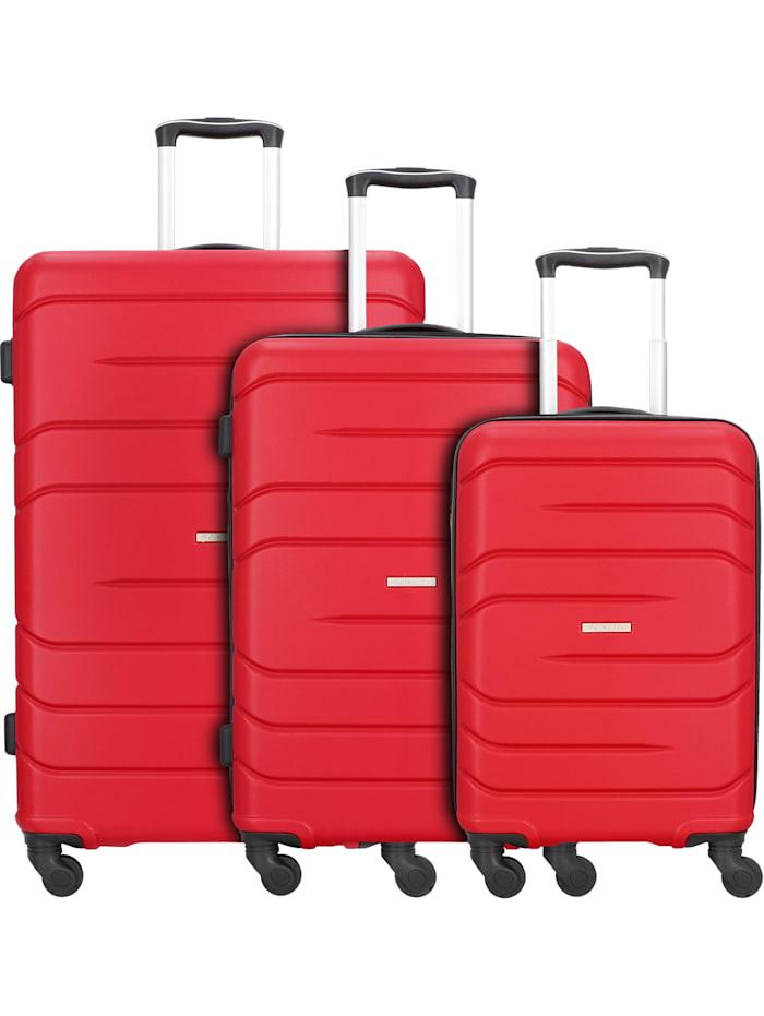 Milano 5.0 4-Rollen Kofferset 3tlg. 3-teilig