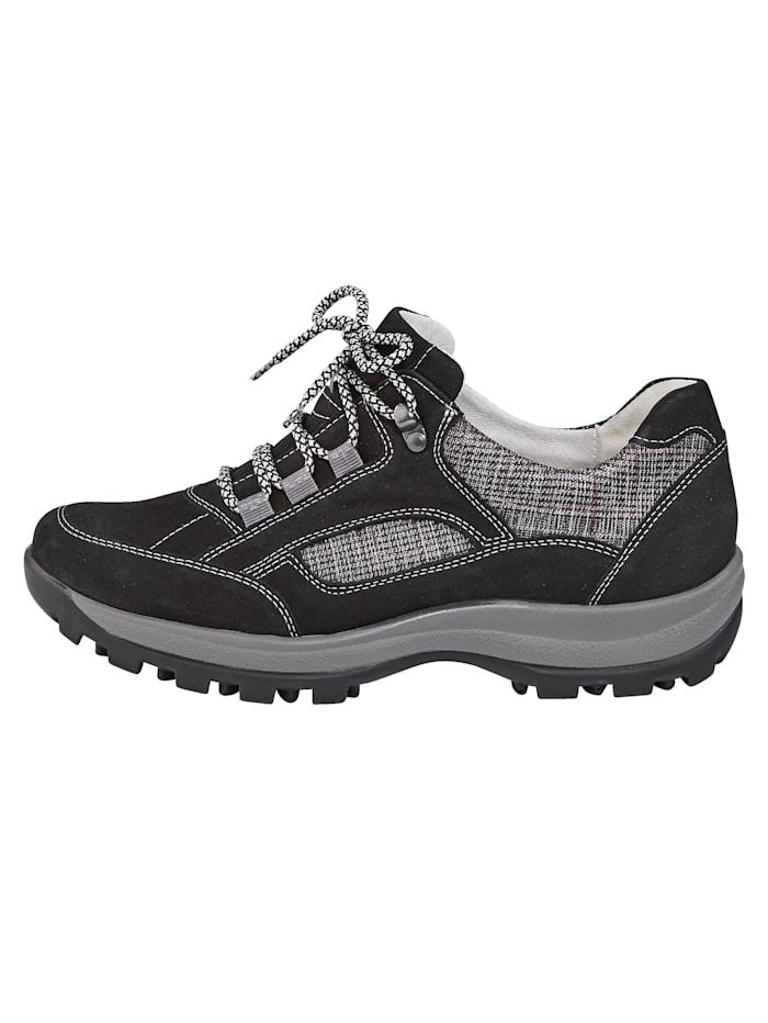 Chaussures de trekking en cuir nubuck/textile