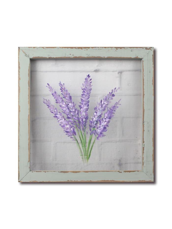 NTK-Collection Wandbild Lavendel, Bunt