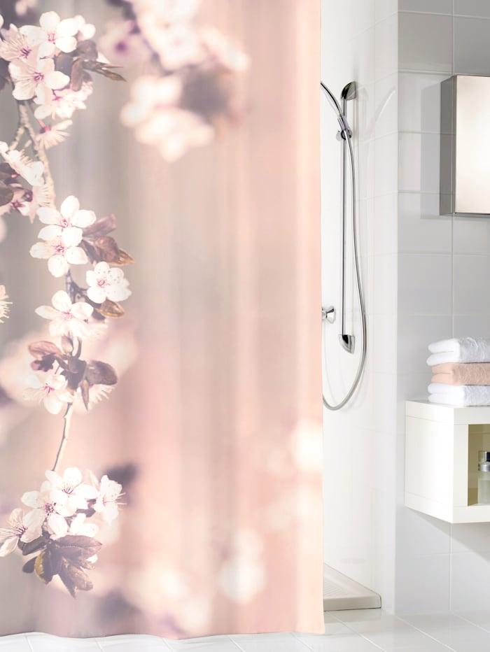 Kleine Wolke Duschvorhang 'Blossom', mehrfarbig