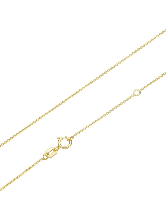 Kette Safir und Diamanten, Gold 585