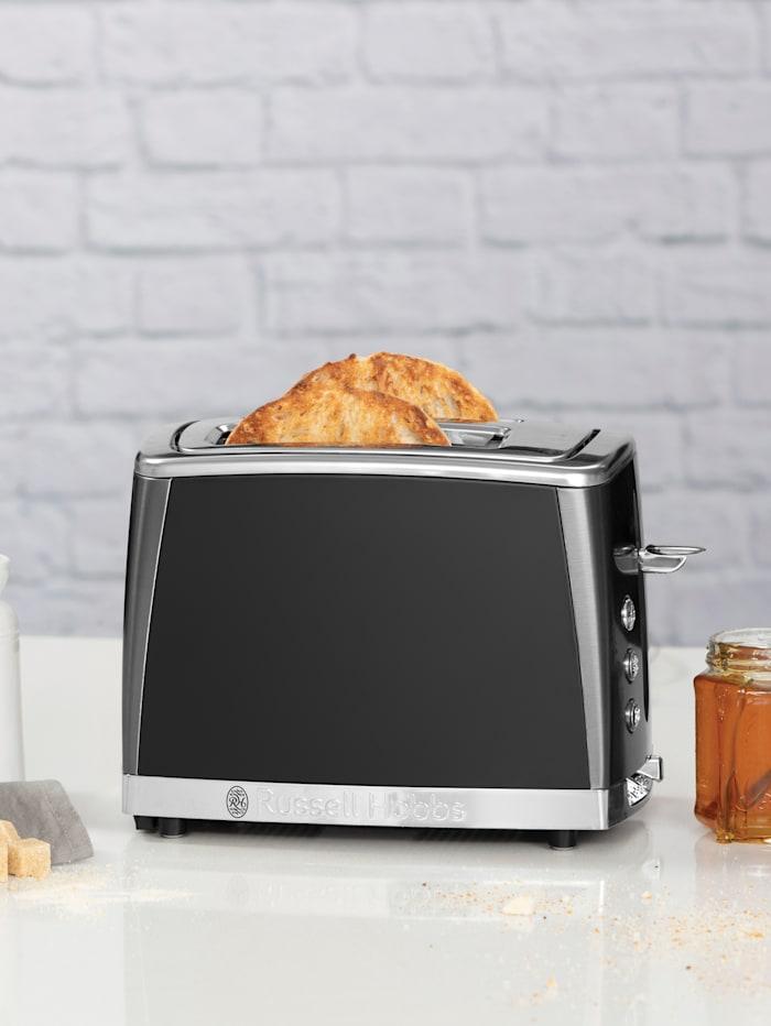 Russell Hobbs 2-Scheiben Toaster 'Matte Black - 26150-56', schwarz