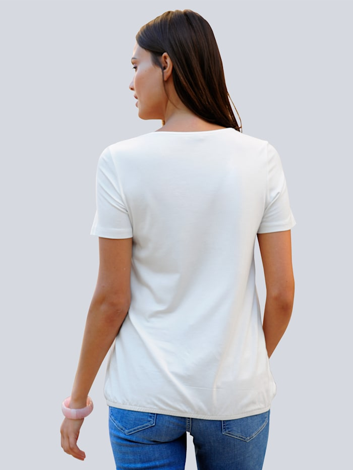 T-shirt à superbe imprimé mode