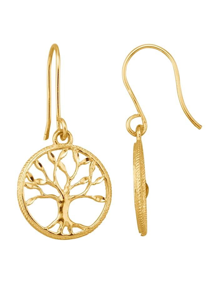 Amara Highlights Lebensbaum-Ohrhaken, Gelbgoldfarben