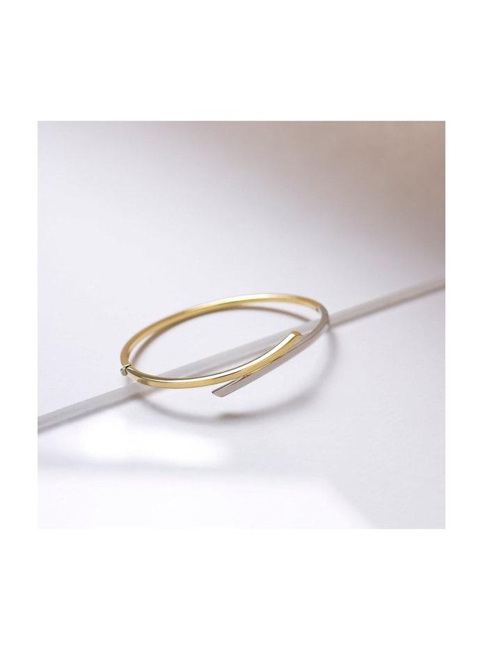 CHRIST Gold Damen-Armreif 375er Gelbgold