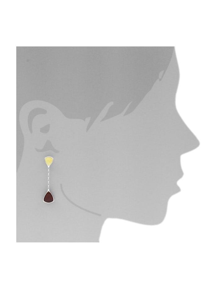 Ohrhänger - Marissa - Silber 925/000 - Bernstein