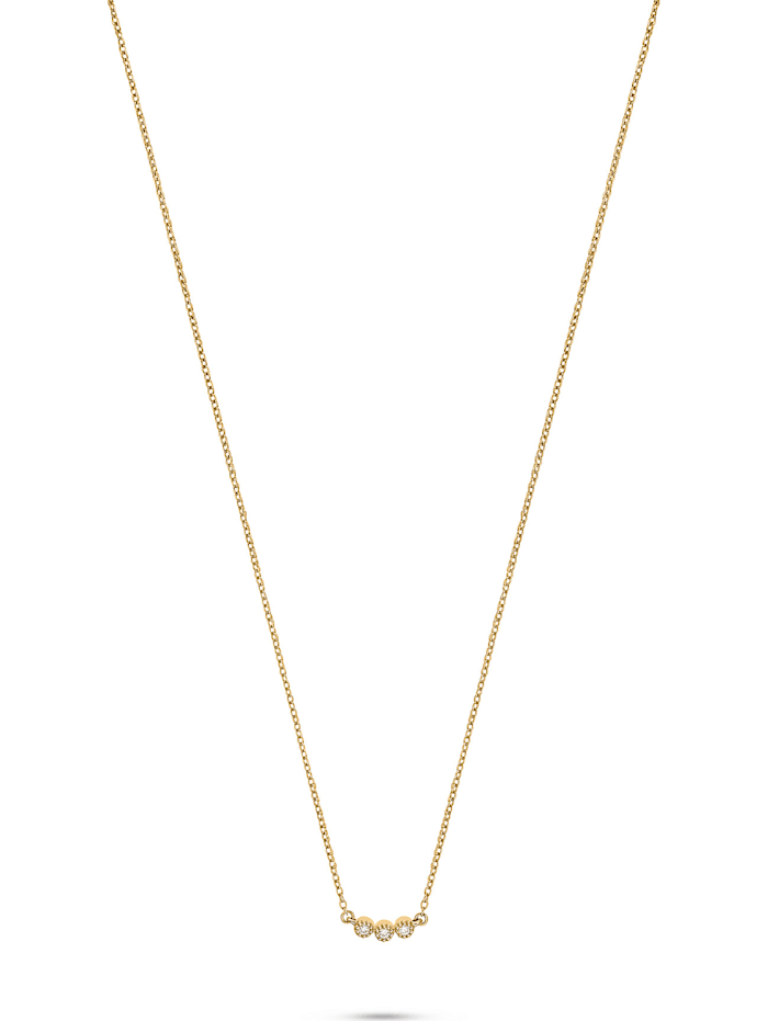 CHRIST C-Collection CHRIST Damen-Kette 3 Diamant, gelbgold