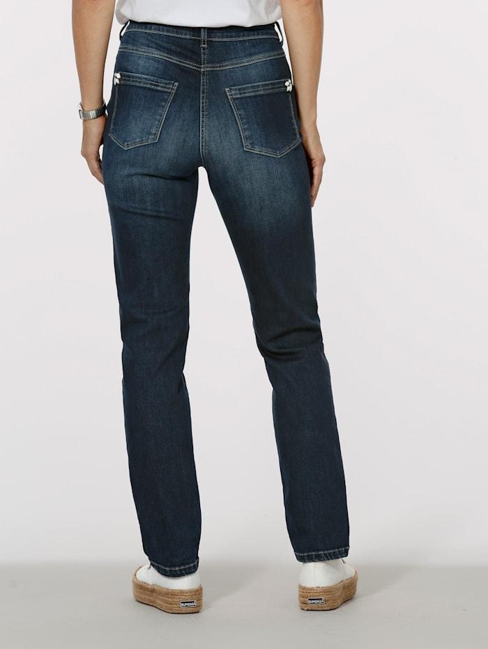 Jeans mit modischer Waschung