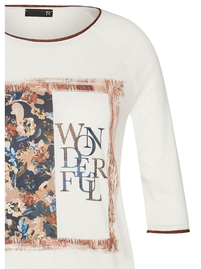 Shirt mit Front-Print und Wording