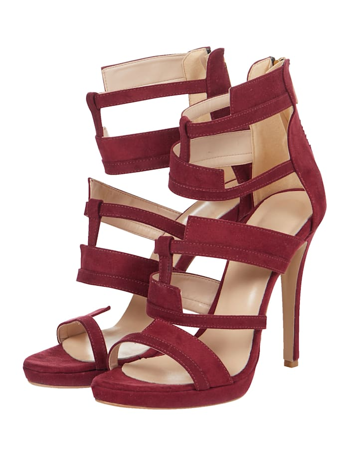 SIENNA Sandalette, Rot