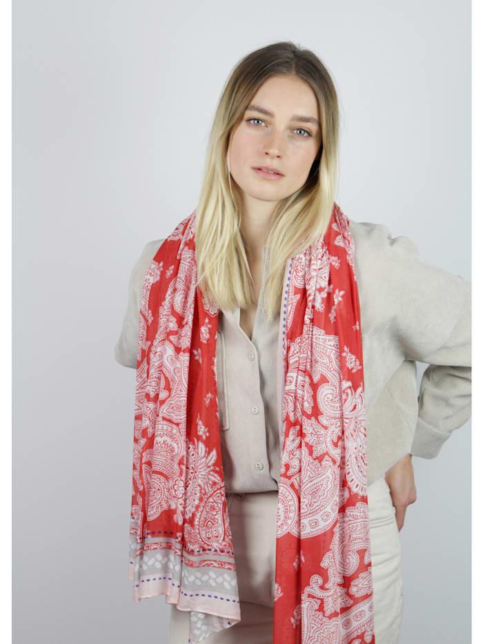 Ultrasofter Paisley-Schal aus edler Viskose