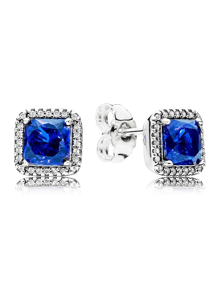 Pandora Ohrstecker Zeitlose Eleganz blau 290591NBT, Blau