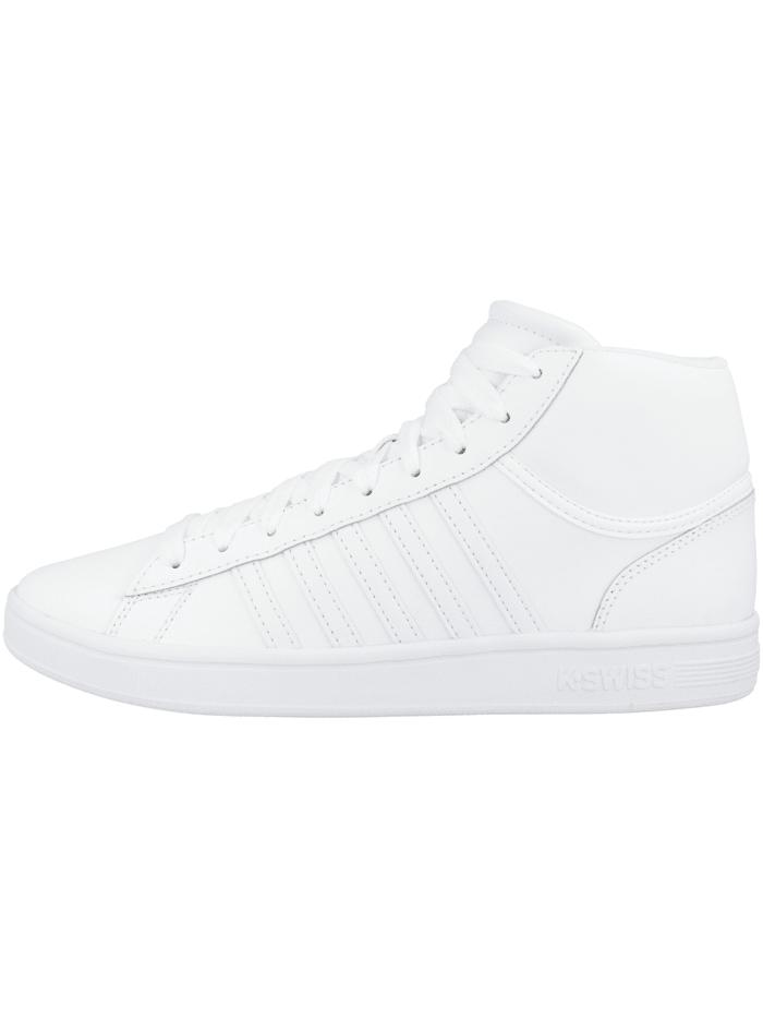K-Swiss Sneaker mid Court Winston Mid, weiss