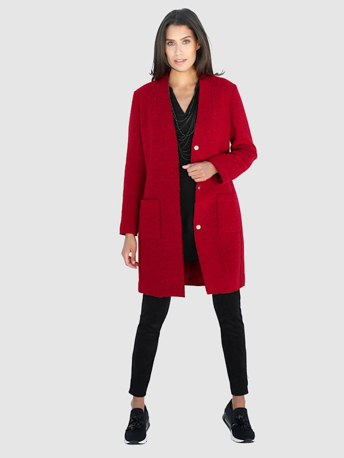 Mantel mit hohem Wollanteil