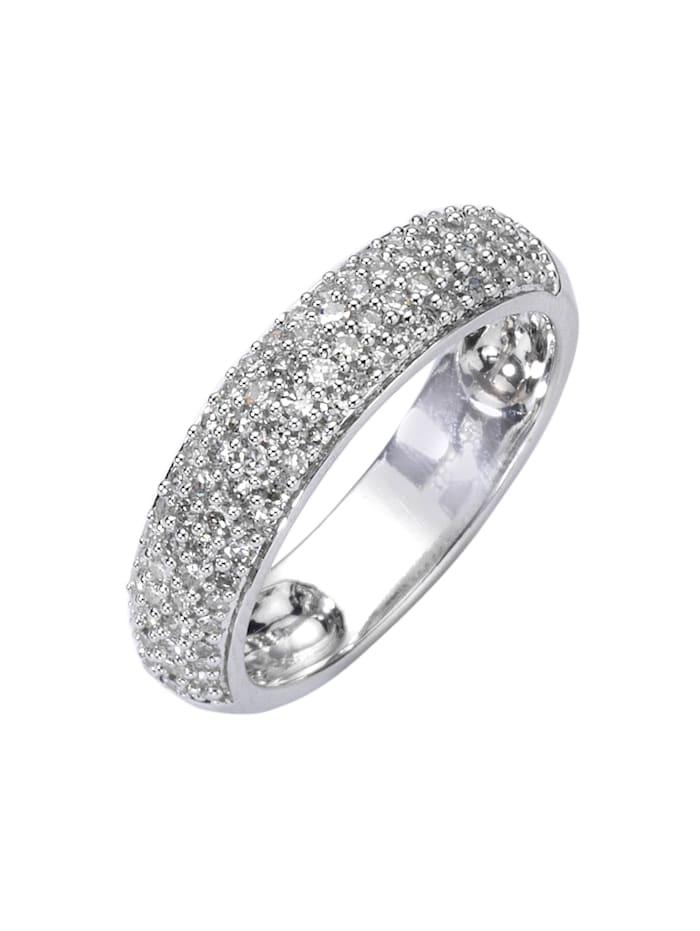 Diamonds by Ellen K. Ring 585/- Gold Brillant weiß Brillant Glänzend 0,50ct. 585/- Gold, weiß
