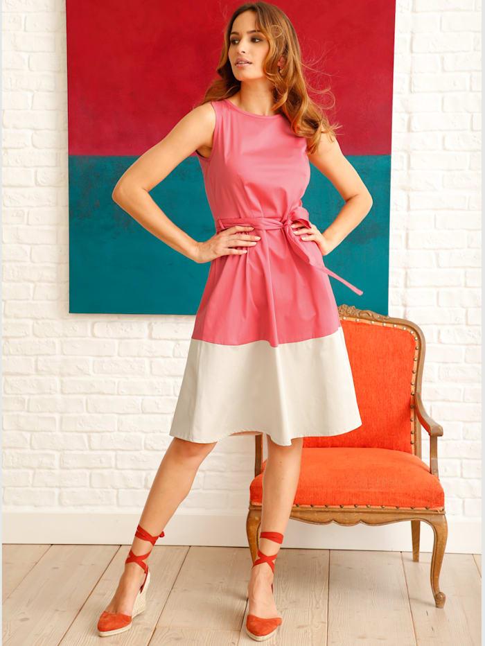 Kleid mit Color-Blocking