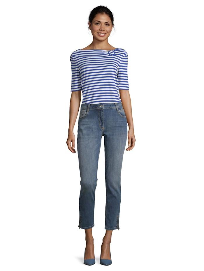 Modern fit jeans mit Reißverschluss