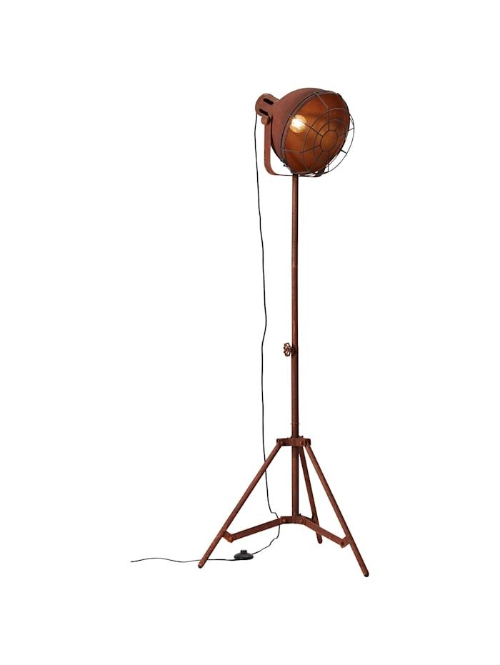 Brilliant Jesper Standleuchte 39cm Gitter rostfarbend, rostfarbend