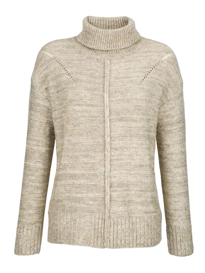 Pullover mit Lochstickerei