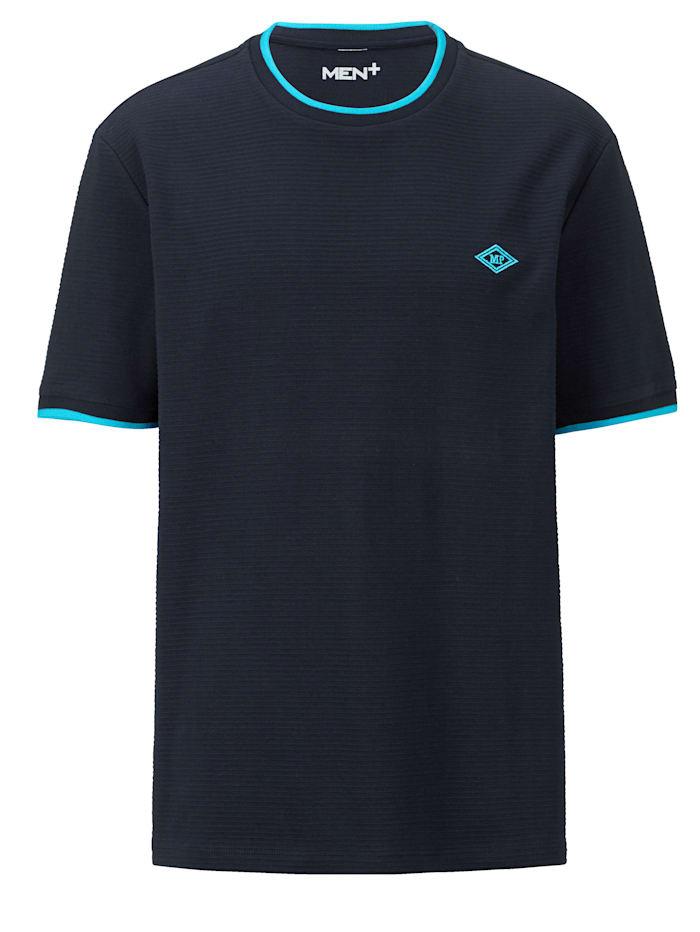 Men Plus T-paita, Laivastonsininen/Petroli