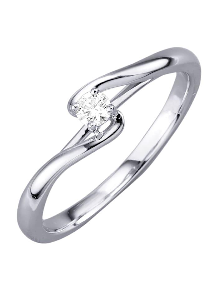 Valkokultainen timanttisormus, Valkokullanvärinen