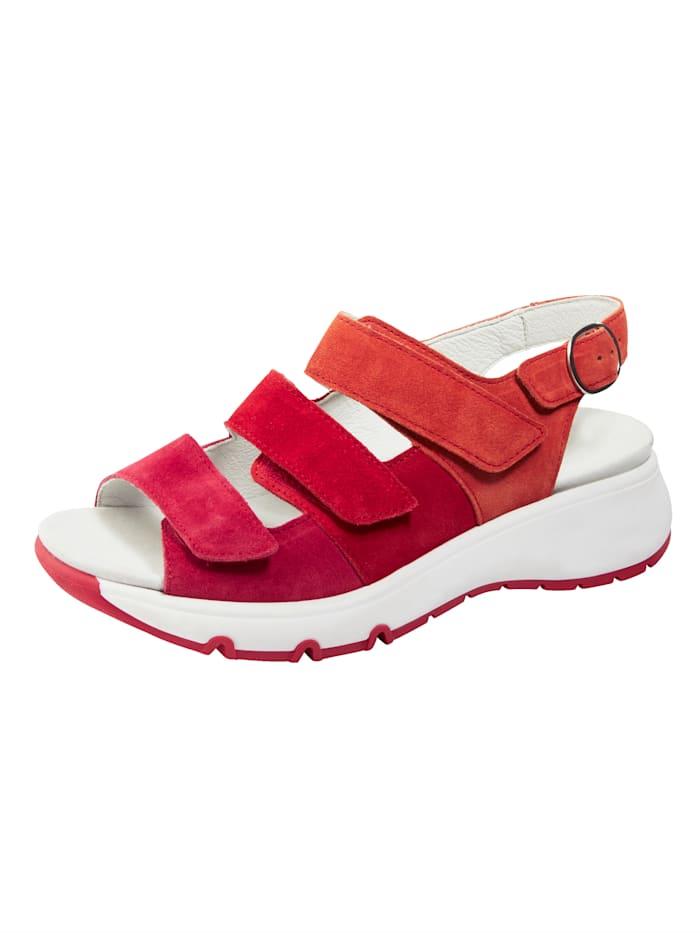 Waldläufer Sandaaltje met klittenbanden, Pink
