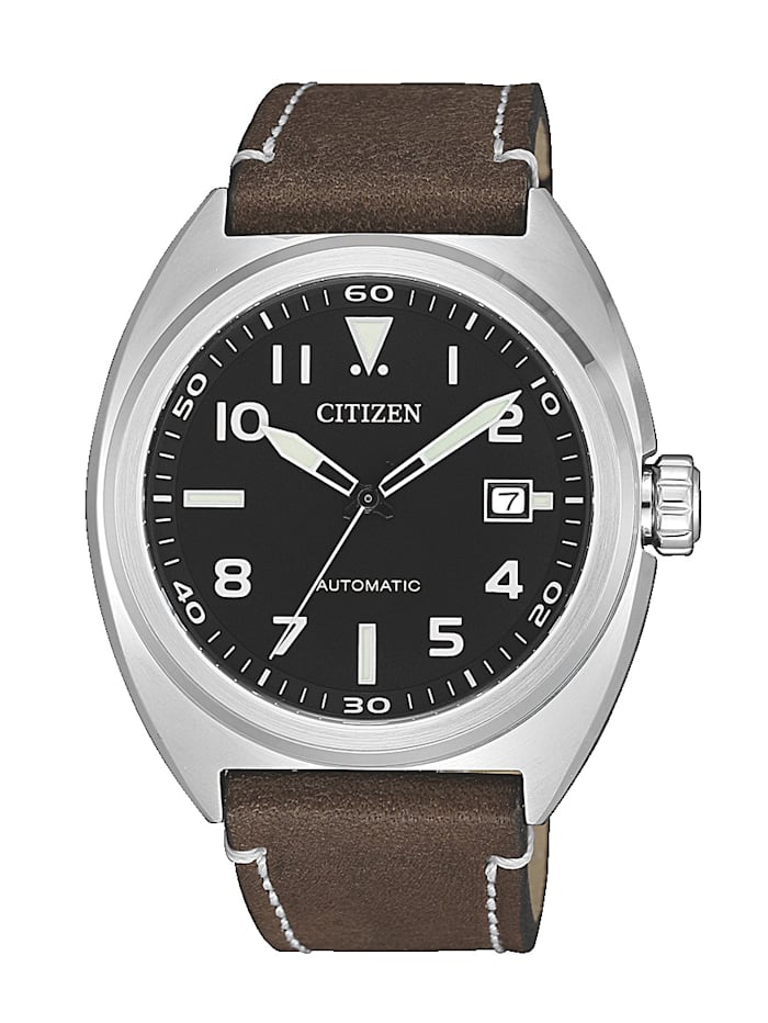 Citizen Automatisch herenhorloge NJ0100-11E, Bruin
