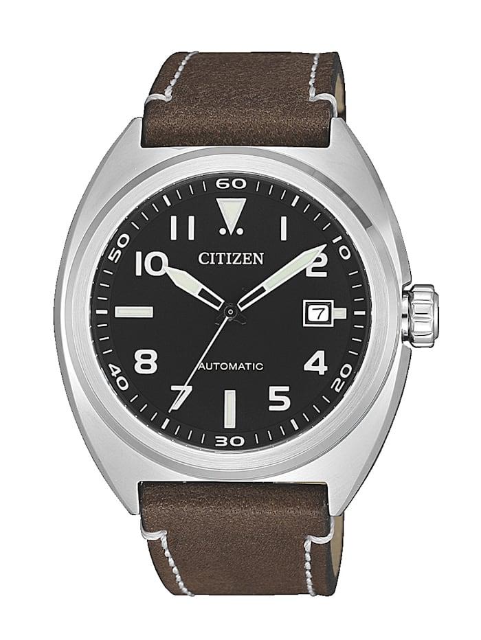 Citizen Herren-Automatikuhr NJ0100-11E, Braun