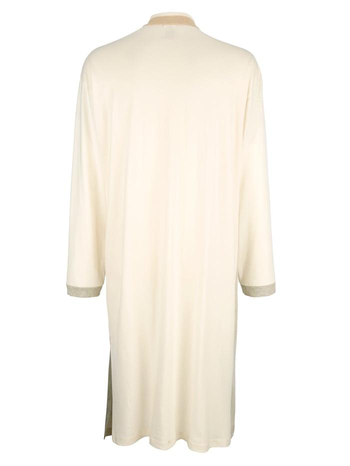 Nattskjorte i økologisk farget bomull