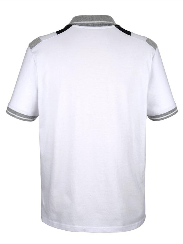 Poloshirt met print