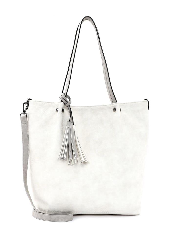EMILY & NOAH Shopper Bag in Bag Surprise, ecru lightgrey 328